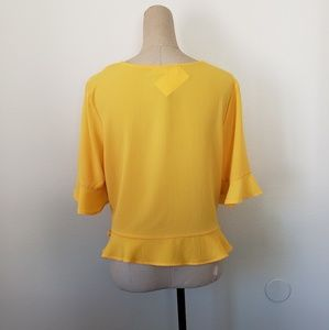 Anthropologie Tops - Elodie cinched blouse XL
